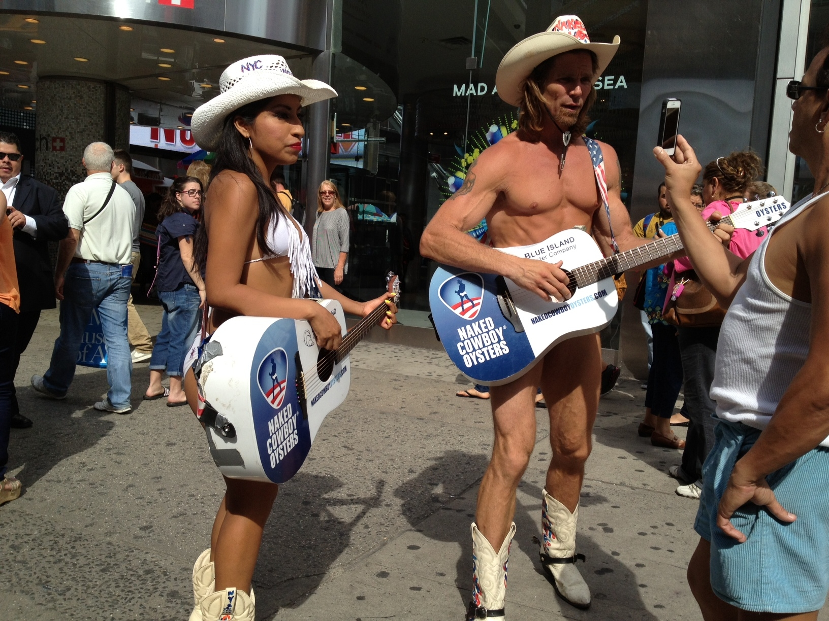 Share Naked cow girl nyc you